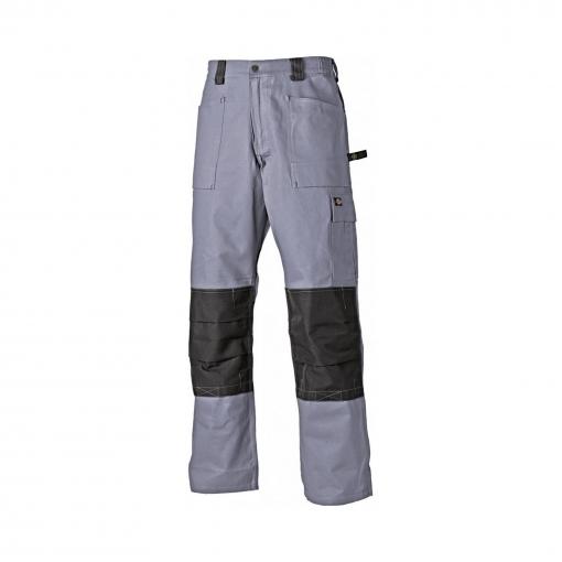 Dickies - Pantalones De Trabajo 2 Tonalidades Modelo Grafted Hombre Caballero (cintura 102cm X Reg) (gris/negro)