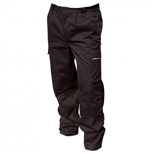 Result - Pantalones De Trabajo Contavientos Modelo Work-guard Action Unisex Hombre Mujer (2xl X Reg) (negro)