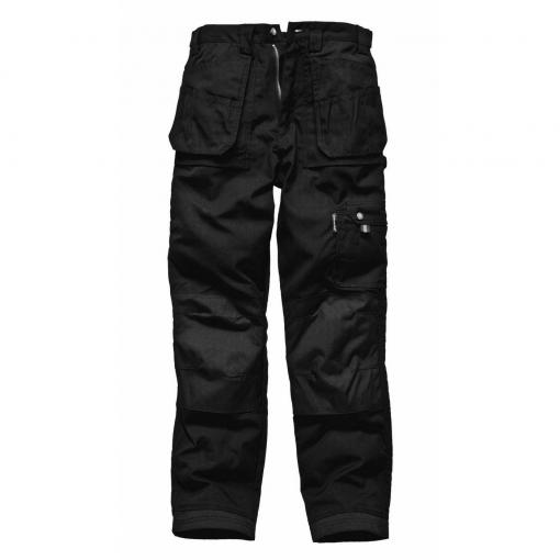 Dickies - Pantalones De Trabajo Modelo Eisenhower Hombre Caballero (longitud Pierna Tall) (cintura 91cm X Long) (negro)
