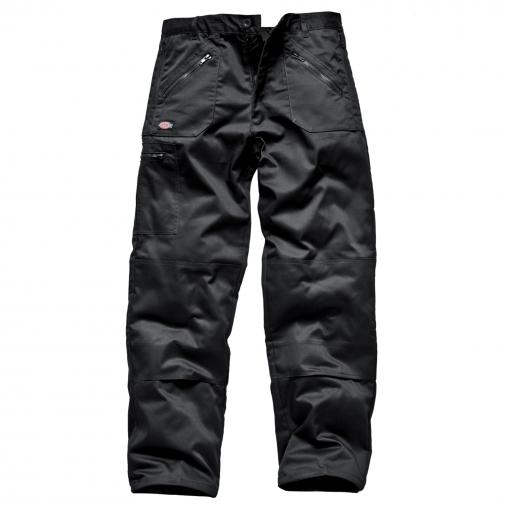 Dickies - Pantalones De Trabajo Modelo Redhawk Action Hombre Caballero (longitud Pierna Short) (cintura 91cm X Short) (negro)