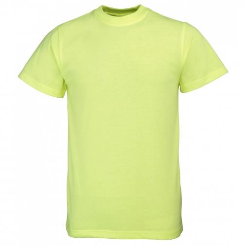 Rty Enhanced Vis - Camiseta De Manga Corta De Alta Visibilidad De Deporte Modelo Enhanced (tallas Grandes Hasta 5xl) Caballero Hombre  - Trabajo / Fiesta (mediana (m)) (amarillo Enhanced)