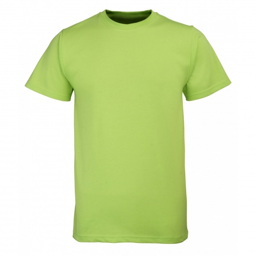 Rty Enhanced Vis - Camiseta De Manga Corta De Alta Visibilidad De Deporte Modelo Enhanced (tallas Grandes Hasta 5xl) Caballero Hombre  - Trabajo / Fiesta (2xl) (verde Enhanced)