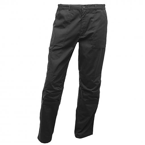 Regatta - Pantalones De Trabajo Impermeables Modelo Action Para Hombre (102/l) (negro)