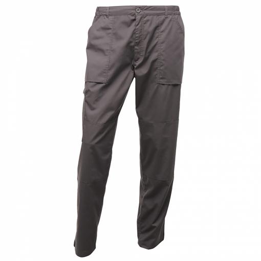 Regatta - Pantalones De Trabajo Impermeables Modelo Action Para Hombre (102/s) (gris Oscuro)