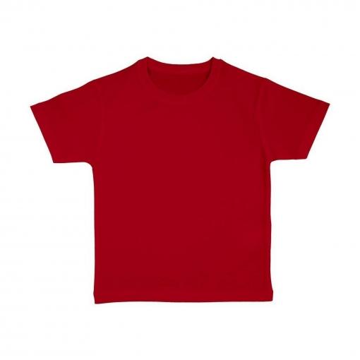Nakedshirt - Camiseta De Manga Corta De Algodón Orgánico Modelo Frog Para Niños (12-14 Años) (rojo)