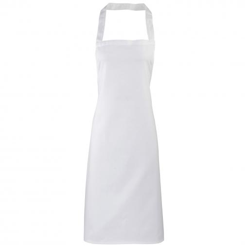 Premier - Delantal Estrecho Sin Bolsillo Para Mujer (talla Única) (gris Plateado)