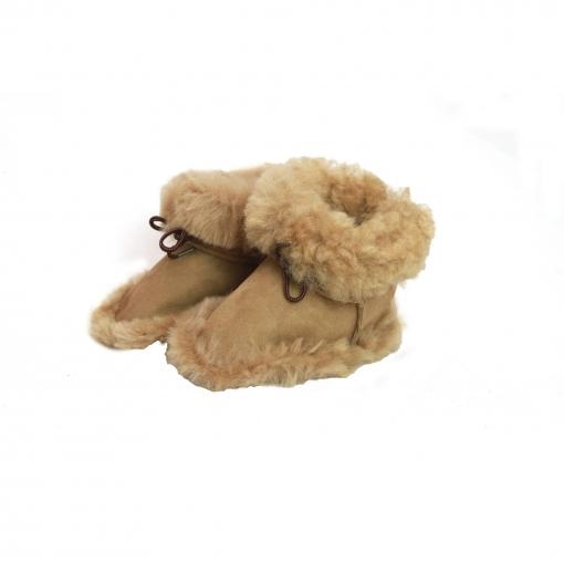 Eastern Counties Leather - Botas De Piel De Oveja Con Cordones Modelo Baby Alex
