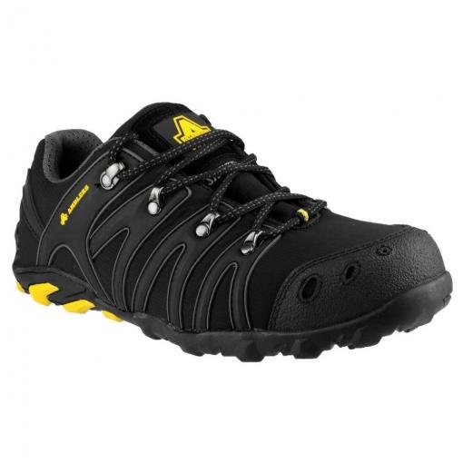 Amblers Safety - Zapatillas Deportivas De Seguridad Fs23 Uso Unisex (41 Eu) (negro)