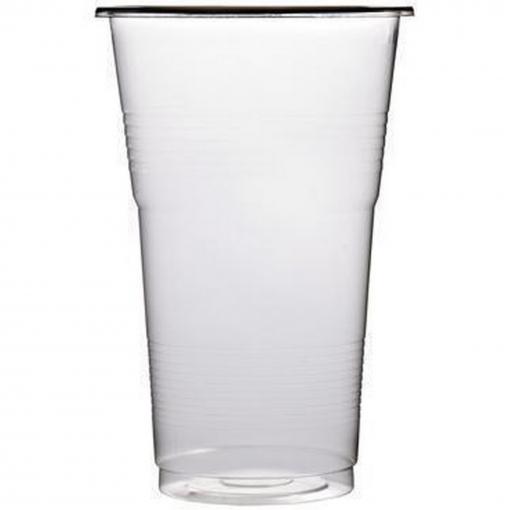 Sterling - Vasos Transparentes De Plástico Para Cerveza (50 Vasos) (1 Pinta) (transparente)