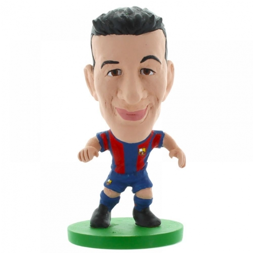 Fc Barcelona - Figura Soccerstarz De Busquets (5cm) (multicolor)