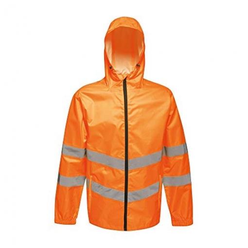 Regatta - Chaqueta Reflectante Plegable De Trabajo (l) (naranja)