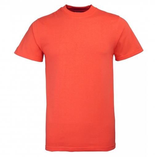 Rty Enhanced Vis - Camiseta De Manga Corta De Alta Visibilidad De Deporte Modelo Enhanced (tallas Grandes Hasta 5xl) Caballero Hombre  - Trabajo / Fiesta (paquete De 2) (3xl) (rojo Enhanced)