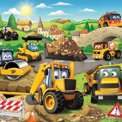 Walltastic Papel De Pared Fotográfico My First Jcb New 43787