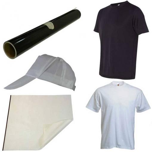 Kit Para Transferencia Térmica De Diseños Sobre Camisetas Y Gorras Presstige bf726aa07dd