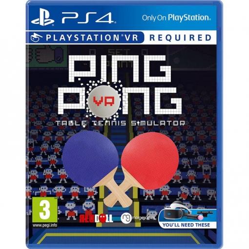 Ping Pong Vr Ps4 Vr Las Mejores Ofertas De Carrefour