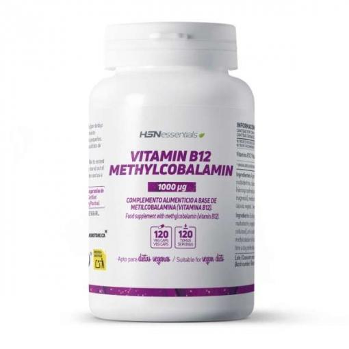Vitamina B12 (metilcobalamina) 1000mcg - 120 Veg Caps