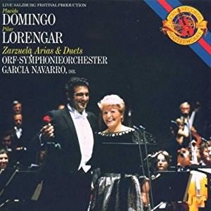 Cd. Placido Domingo Pilar Lorengar. Zarzuelas Aria