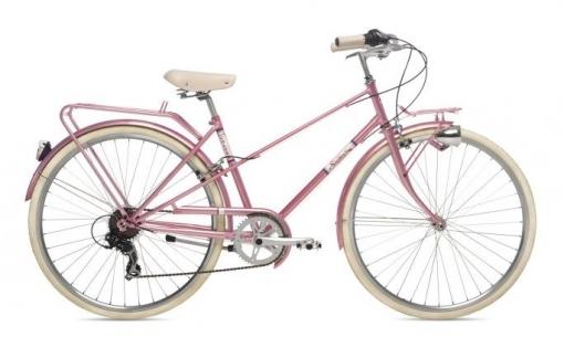 Bicicleta Paseo Coluer Sixties Rosa