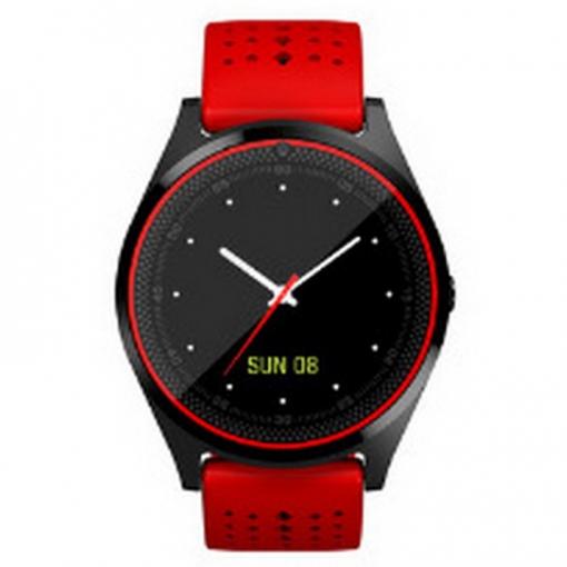 e712c4812751 Reloj V9 Inteligente Con Cámara Reloj De Pulsera Sim Smartwatch Bluetooth  Para Dispositivos Portátiles Con Teléfono Android