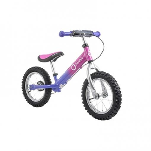 Bicicleta Infantil Con Casco Dex Plus Pink De Lionelo