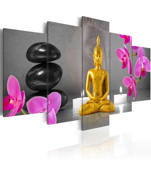 Cuadro - Zen: Golden Buddha , Tama�o - 200x100
