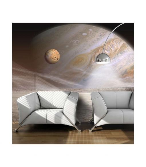 Fotomural - Un Planeta Peque�o Y Uno Grande , Tama�o - 200x154