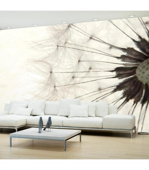 Fotomural - White Dandelion , Tamaño - 150x105
