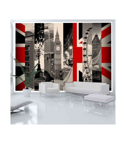 Fotomural - S�mbolos De Londres , Tama�o - 150x105