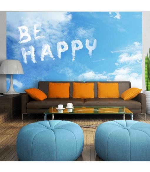 Fotomural - Be Happy , Tama�o - 300x210