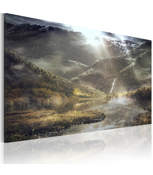 Cuadro - The Land Of Mists , Tamaño - 90x60