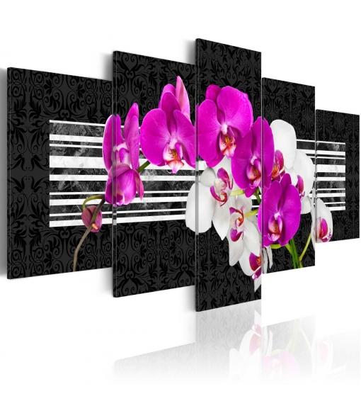 Cuadro - Orquídeas Modestas , Tamaño - 200x100