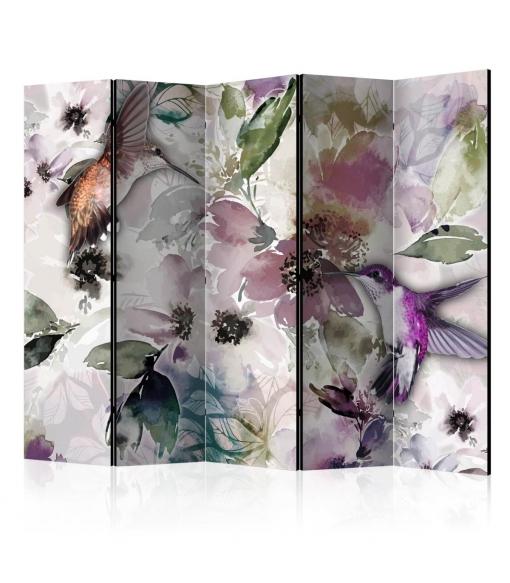 Biombo - Nature In Watercolor Ii [room Dividers] , Tama�o - 225x172