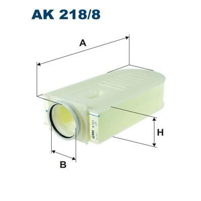Ak218 / Filtro De Aire 8