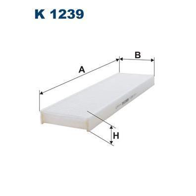 Filtro De Cabina Filtron K1239