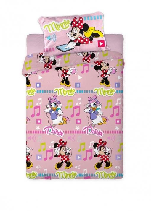 2c74fa27e4 Juego De Sábanas Invierno Polar Disney Minnie Mouse   Daisy Rosa (cama  105x190 200 Cms)