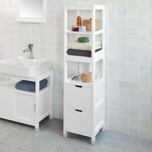 Mueble Columna De Baño Blanco Con Ofertas En Carrefour Las Mejores Ofertas De Carrefour