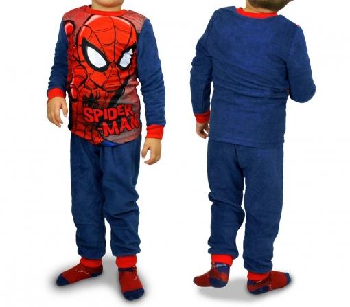 Buenos precios servicio duradero mejor venta 1732 Pijama De Terciopelo Para Niños Con Motivo De Spiderman (4 A 8 Años) |  4-anos