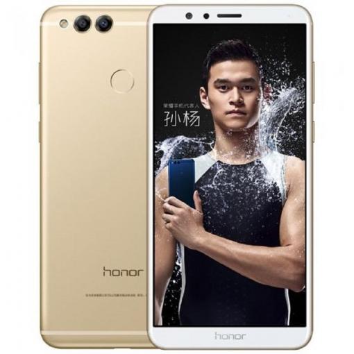 Smartphone Libre Honor 7x 4gb Ram + 32gb Dual Sim Oro