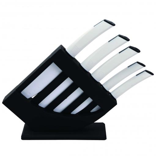 Set 6p (tacoma+5 Cuchillos) Acero Inoxidable Ultra Non-stick