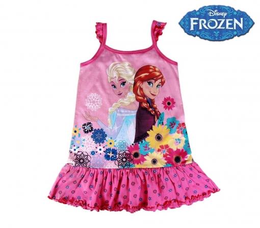22 1968 Vestido De Algodón Para Niña De Frozen De Elsa Y Anna 3 A 7 Años 3 Anos