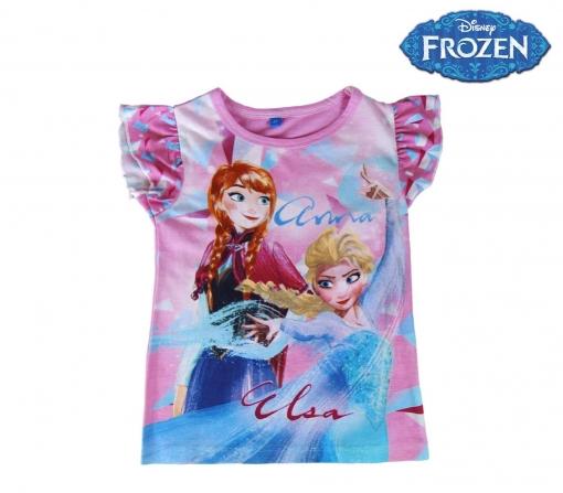 8e94ad784 22-1949 Camiseta Para Niña Frozen Elsa Y Anna Algodón De 3 A 7 Años | 3-anos
