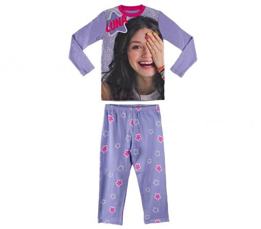 9f56477bc 22-1722 Pijama De Manga Larga Para Niña Soy Luna Disney Tallas 6-8 ...