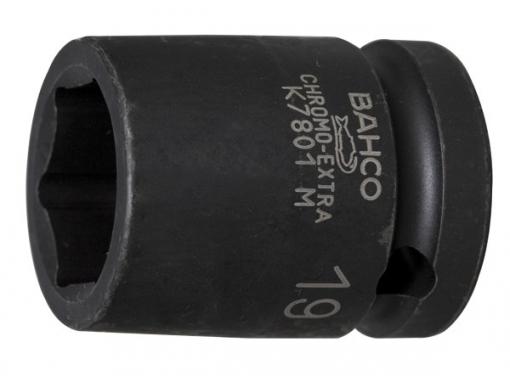 Llave Vaso Impacto 1/2'' - Bahco - K7801m-14 - 14 Mm