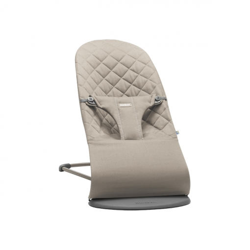 Transat Babybjorn Bliss Gris Sable Cotton
