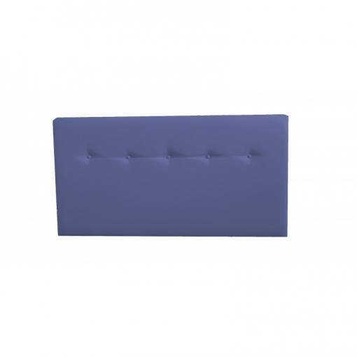 Cabecero Cama  Polipiel Moderno  120*70cm Alaska  Azul