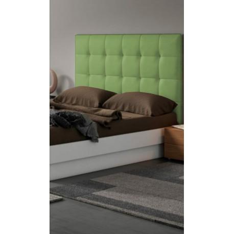Cabecero cama polipiel moderno 135cm big canada verde las mejores ofertas de carrefour - Cabecero polipiel carrefour ...
