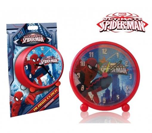 Reloj Despertador Infantil Niño Y Niña Con Motivo De Spiderman - Marvel Mv16057