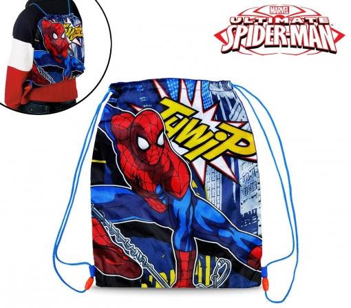 bc9f0689a6c Mv92269 Bolsa Mochila Infantil (32 X 40 Cm) Con Motivo De Spiderman ...