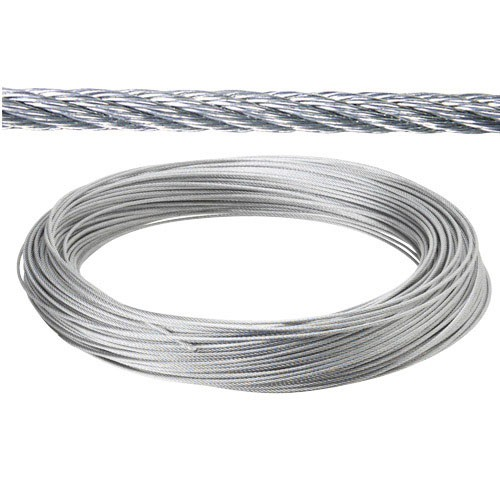 Cable Galvanizado 5 Mm. (rollo 100 Metros) No Elevacion - Neoferr