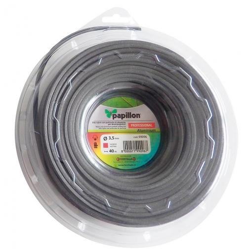 Hilo Nylon / Aluminio Cuadrado Profesional 3,0 Mm. (50 Metros)